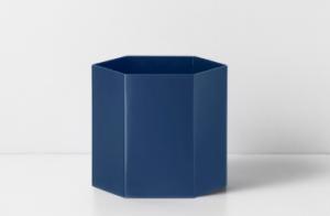 Dark Blue Hexagon Pot