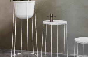 Menu-Wire-Tischplatte-Marmor-23-cm-weiss-Ambiente